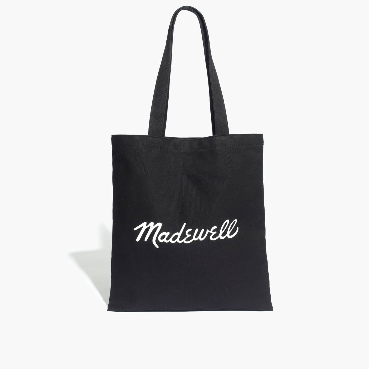The Reusable Canvas Tote in true black image 4
