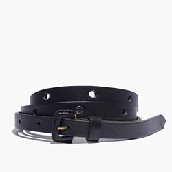 Leather Holepunch Belt