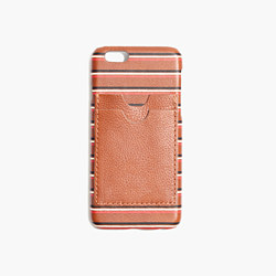 Leather Carryall Case for iPhone® 6 in Stripe