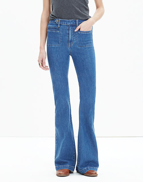 Madewell X Daryl K Fontaine Flare Jeans