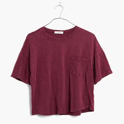Garment-Dyed Pocket Tee