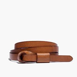 Leather Loop Belt