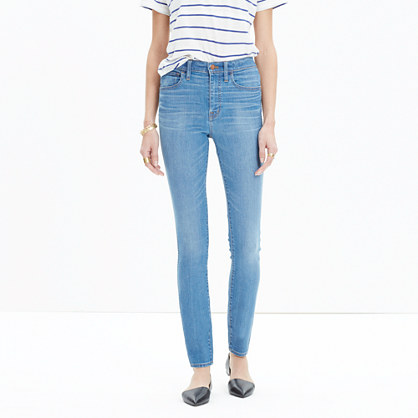 "10"" High-Rise Skinny Jeans in Rosedale"