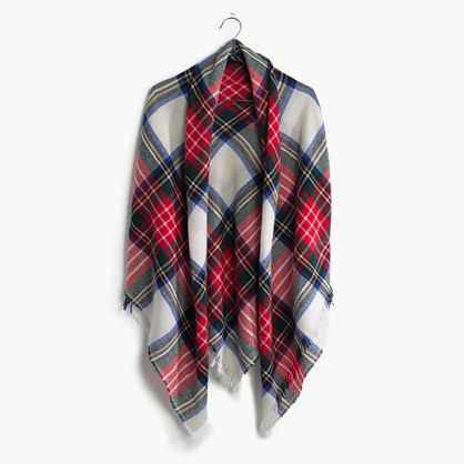 Sézane® Plaid Scarf