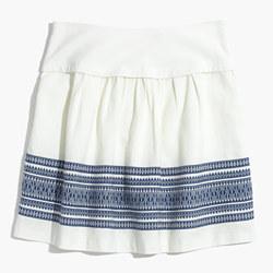 Skyline Skirt in Cabana Jacquard