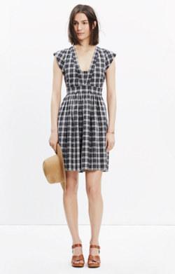 Nightbreeze Mini Dress in Strokedash