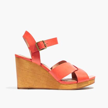 The Drea Wedge Sandal