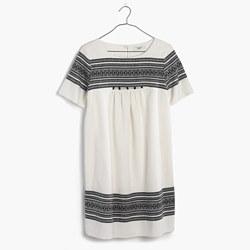 Cabana Jacquard Shift Dress