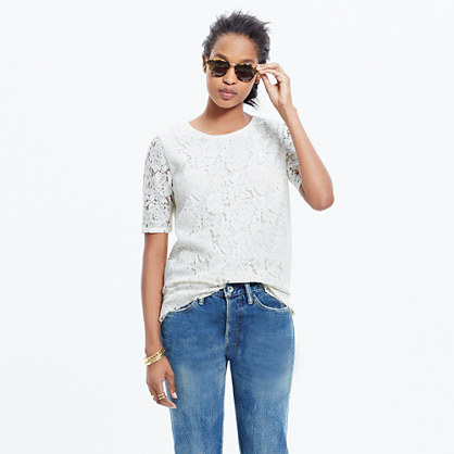 Lace Refined Tee