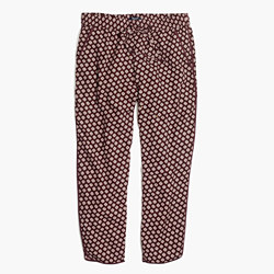 Track Trousers in Coin Tile