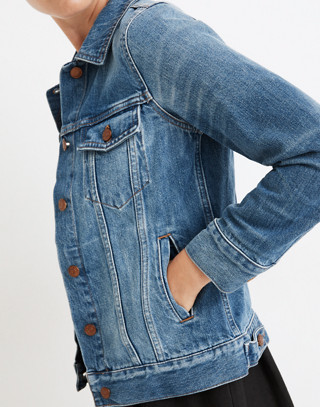 The Jean Jacket in Pinter Wash in pinter wash image 2