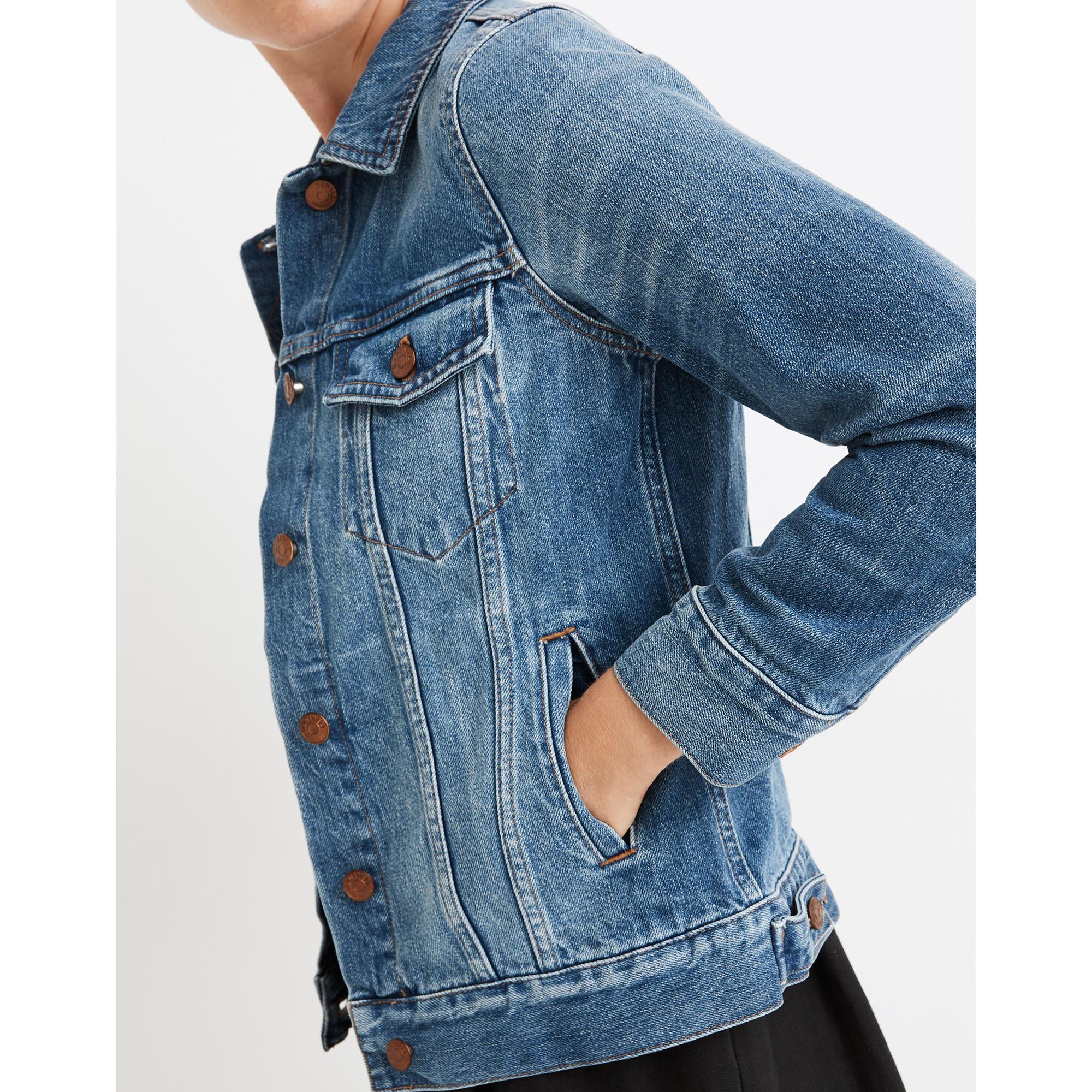 The Jean Jacket in Pinter Wash : shopmadewell gifts | Madewell