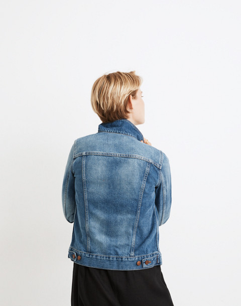 The Jean Jacket in Pinter Wash in pinter wash image 3