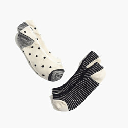 Two-Pack Polka-Dot Low Profile Socks