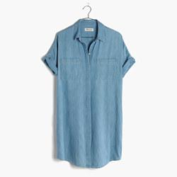 Denim Courier Shirtdress
