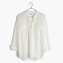 Terrace Lace-Up Shirt