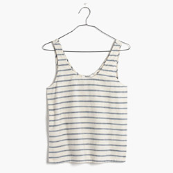 Sundown Tank Top in Ikat Stripe