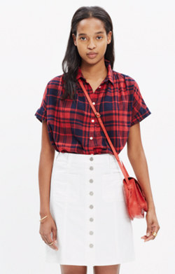 Central Shirt in Bushwick Plaid