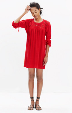 Eyelet Daybreak Dress