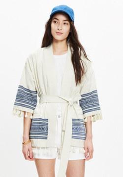 Kimono Tassel Jacket