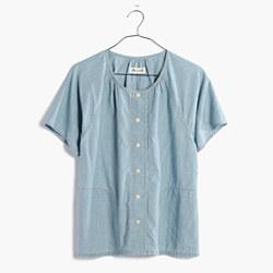 Chambray Raglan Shirt