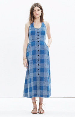 Rivet & Thread Japanese Denim Maxi Dress