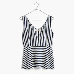 Rivet & Thread Japanese Indigo Stripe Top