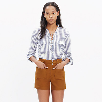 Monroe High-Rise Shorts