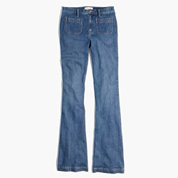 Flea Market Flare Jeans: Sailor Edition in Lucy Wash