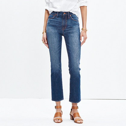 Cali Demi-Boot Jeans in Donovan Wash