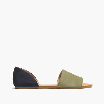 The Thea Sandal in Colorblock