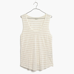Anthem Scoop Tank Top in Encino Stripe