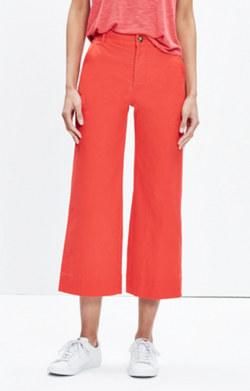 Langford Wide-Leg Crop Pants