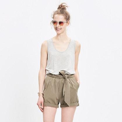 Sullivan Tie-Waist Shorts