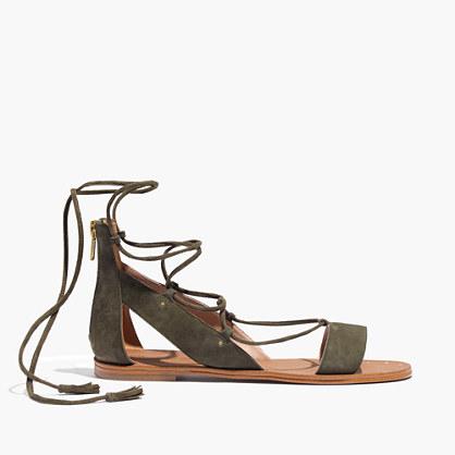 The Bridget Lace-Up Sandal