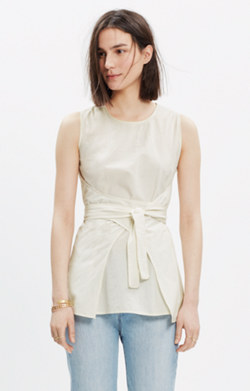 Caron Callahan™ Sleeveless Tie Top