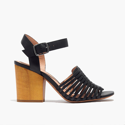 The Willa Wooden-Heel Sandal