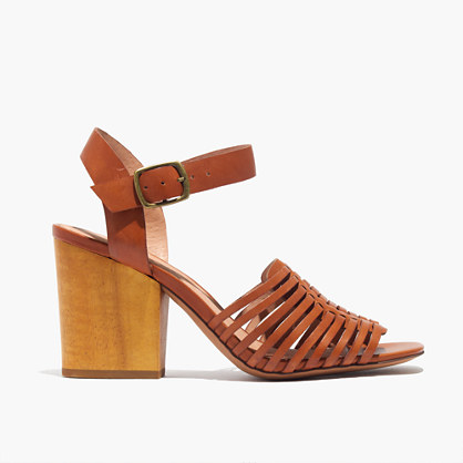 The Willa Wooden-Heel Sandal