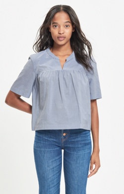 Striped Shoreward Top