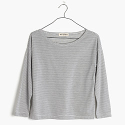Rivet & Thread LA Three-Quarter Tee in Palmdale Stripe