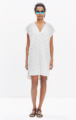 Embroidered Cannes Cover-Up Tunic