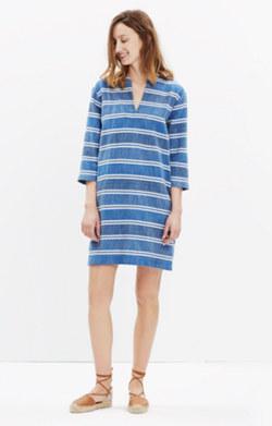 Ace&Jig™ Deck Dress in Blue Jean Print