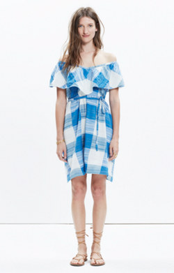 Ace&Jig™ Adriatic Dress in Banner Blue Print