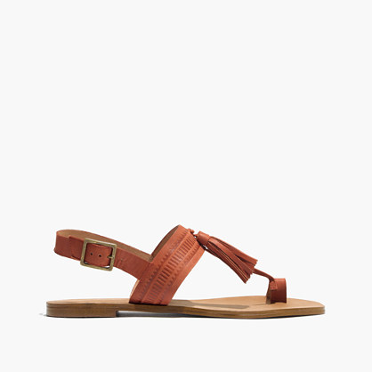 The Renny Tassel Sandal