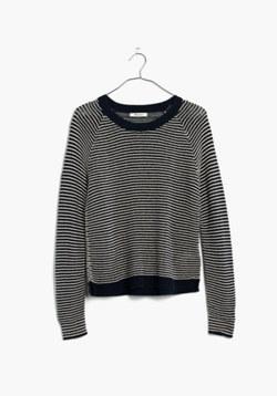 Dockline Pullover Sweater in Simple Stripe