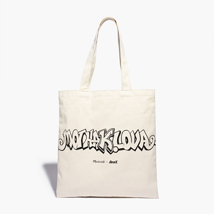 Madewell x Daryl K® Reusable Mothalova Canvas Tote Bag : totes ...