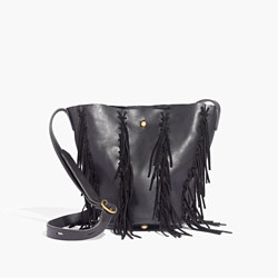 The Monterey Fringe Bucket Bag
