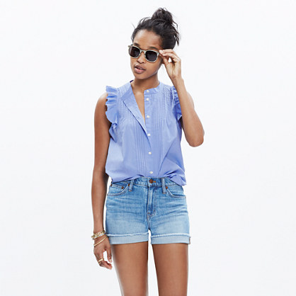 End-on-End Ruffle Shirt