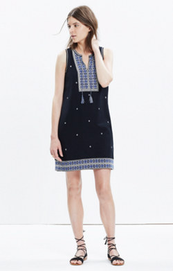 Embroidered Suncoast Dress