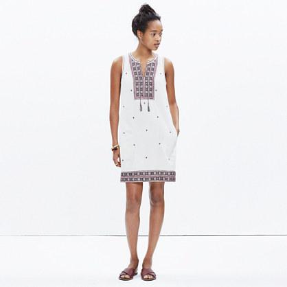 Embroidered Suncoast Dress